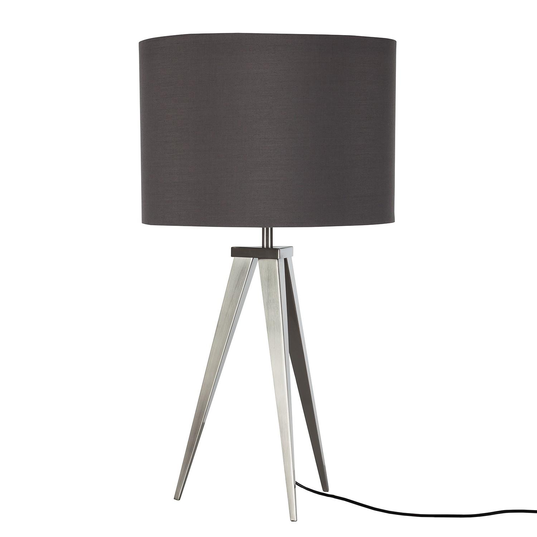 EEK A++, Lampe de table Tripod Asmo II - Métal / Tissu - 1 ampoule, Loistaa
