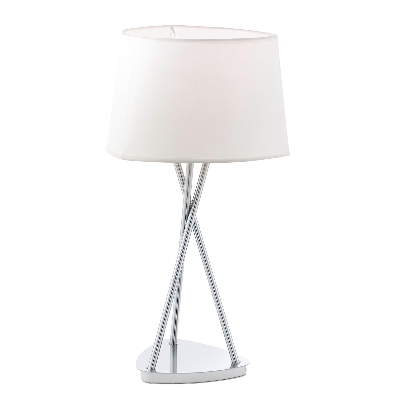 EEK A++, Tischleuchte Belora - Webstoff / Stahl - 1-flammig, Eglo bei Home24 - Lampen