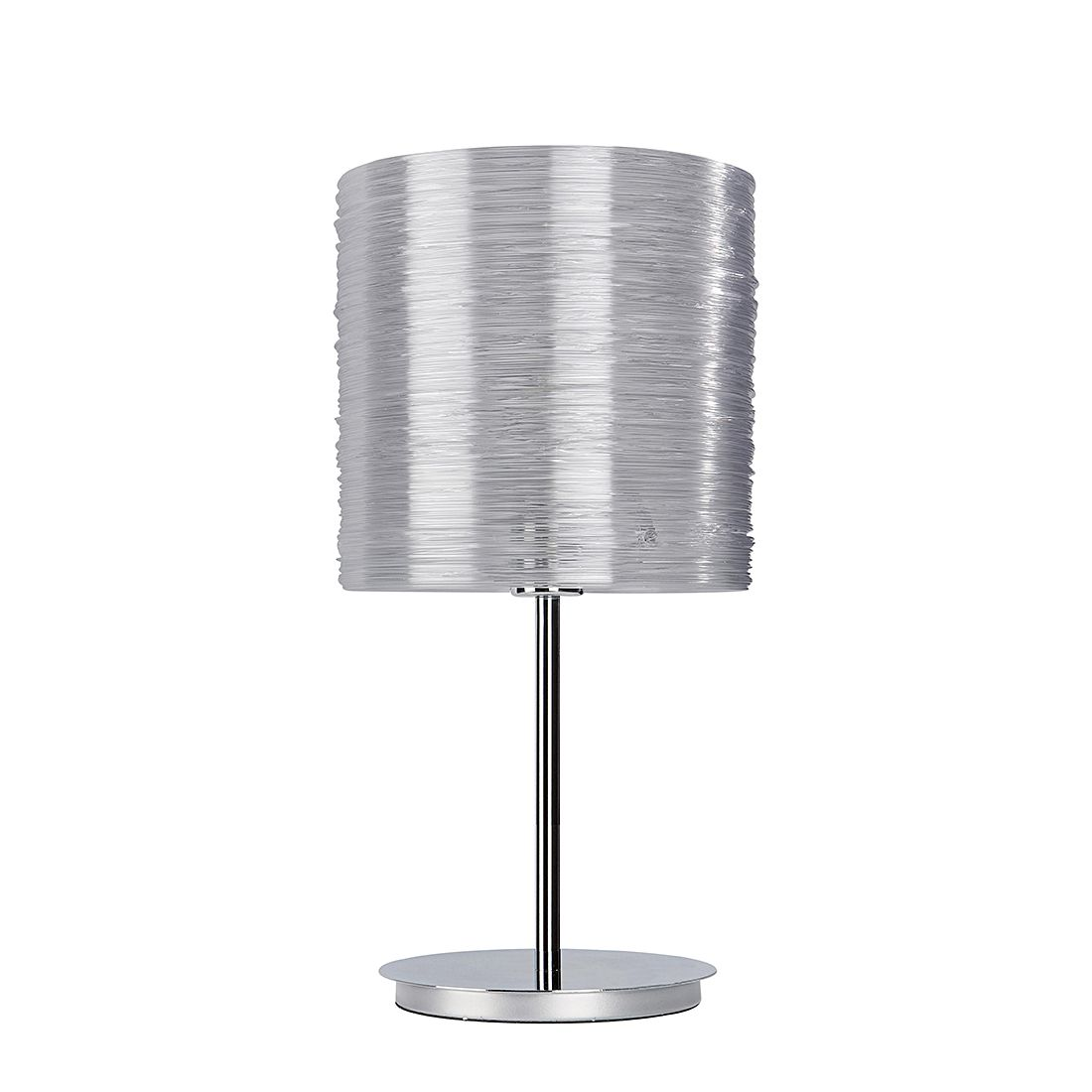 EEK A++, Lampe de table Bright - Argenté - 1 ampoule, Sompex