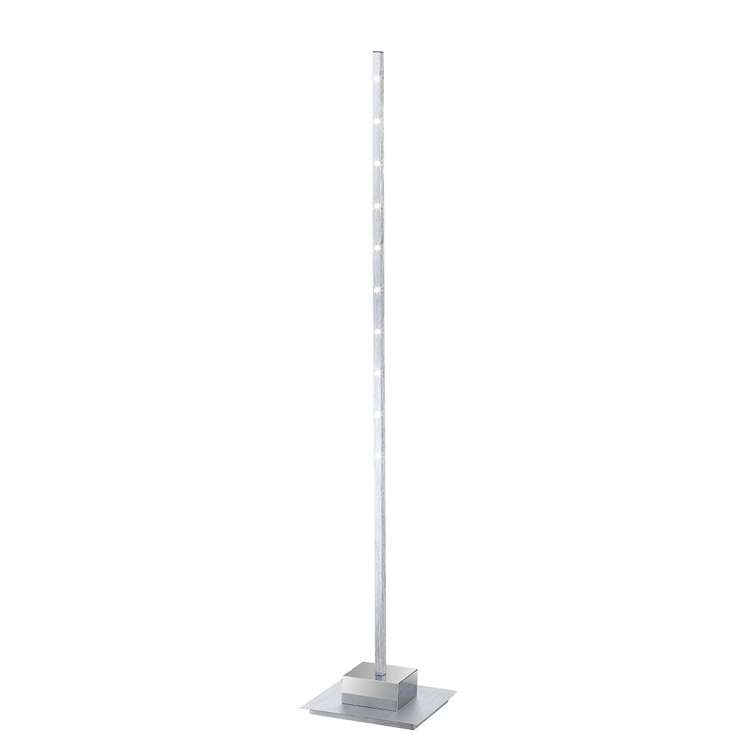 Image of energia A+, Lampada da tavolo CALIBAN - Alluminio Color argento 10 luci, Globo Lighting