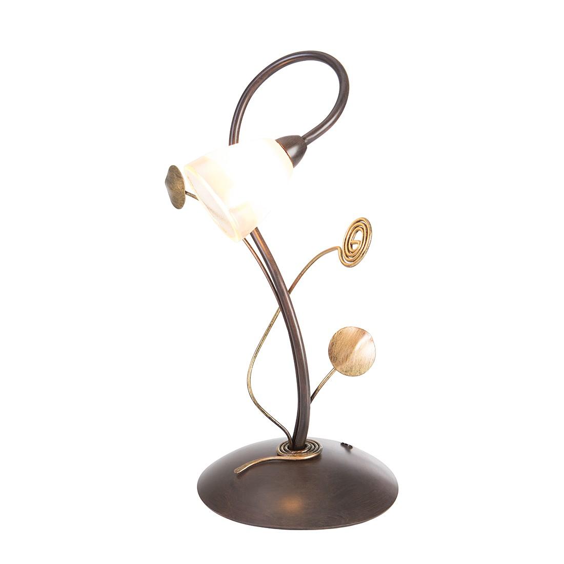 EEK A++, Lampe de table Daydream - 1 ampoule Marron foncé, Steinhauer