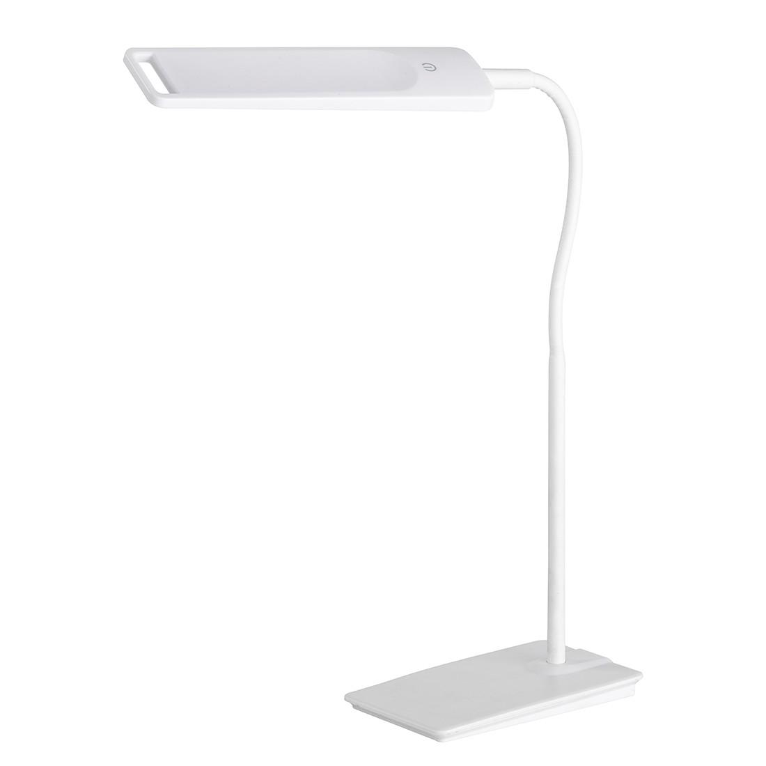 energie  A+, Tafellamp FIN - wit metaal 1 lichtbron, Wofi