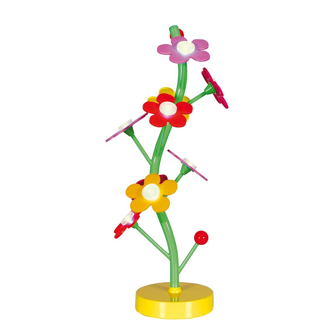 Tafellamp Flower - metaal/kunststof meerkleurig, Näve