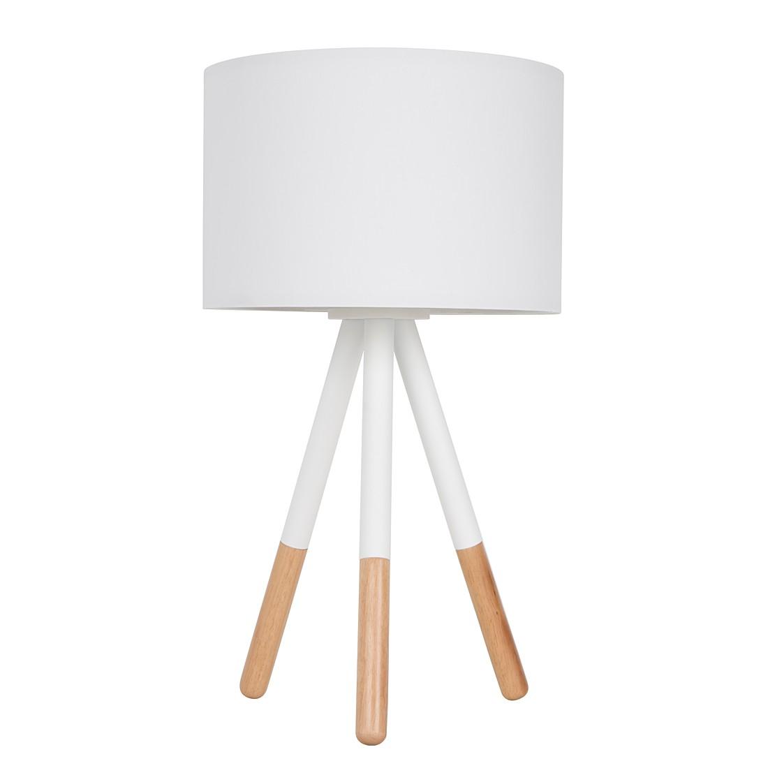EEK A++, Lampe de table HIGHLAND - Métal / Bois 1 ampoule, Zuiver