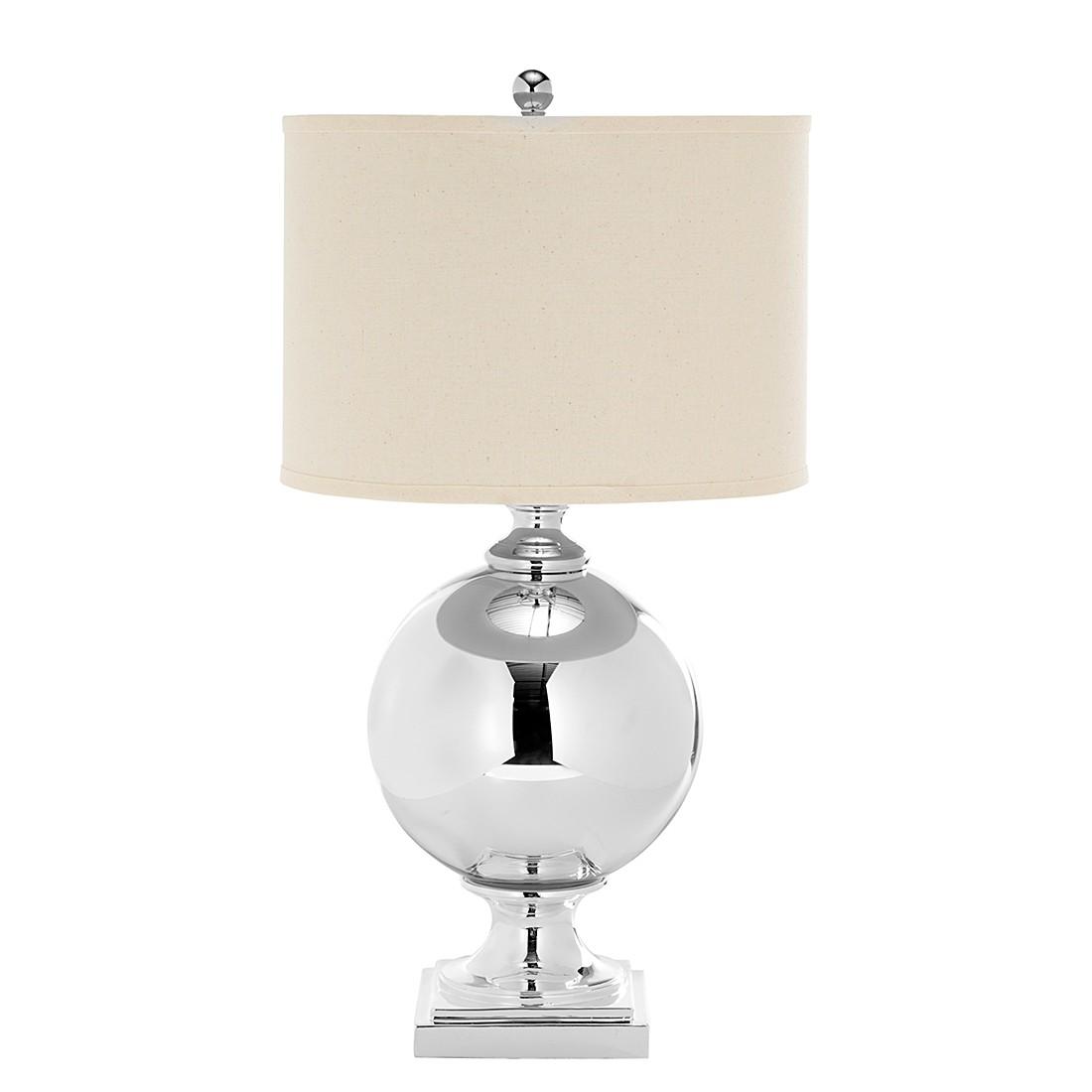 Lampe de table Icott Mercury - Crème / Argenté, Safavieh