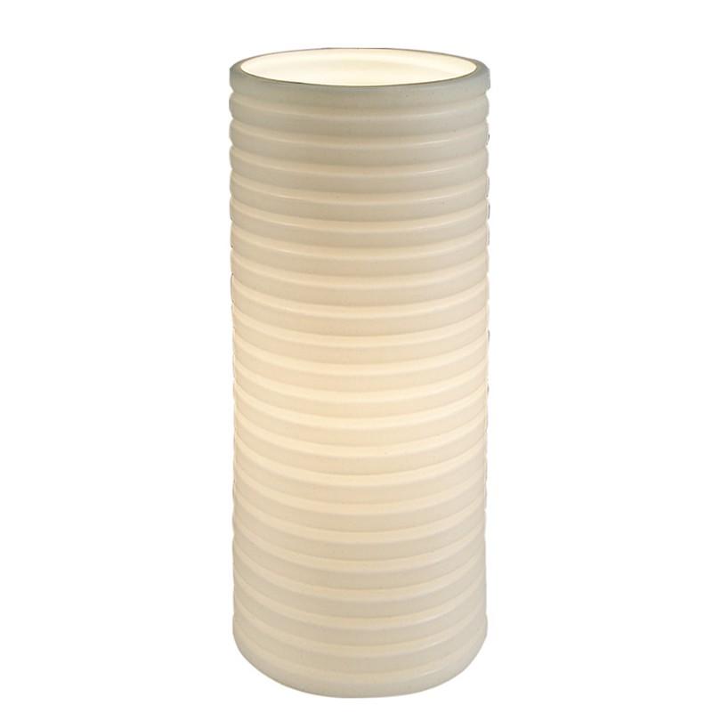 energie  A++, Tafellamp - keramiek wit 1 lichtbron, Näve