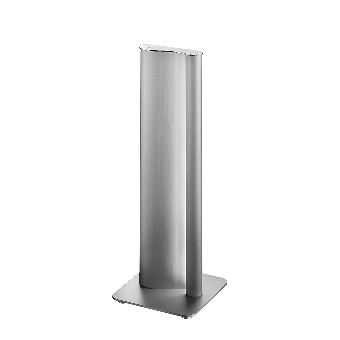EEK A+, Lampe de table KURVO - Métal / Matériau synthétique Argenté, Helestra