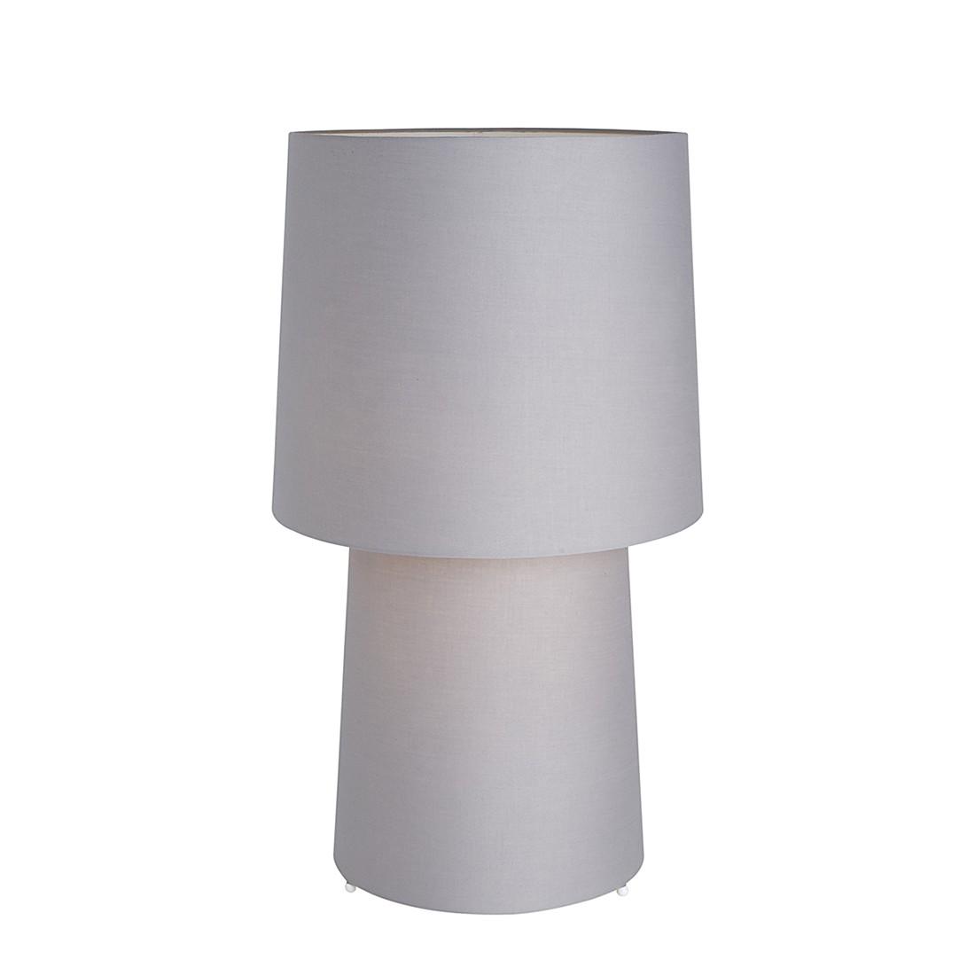 EEK A++, Lampe de table Madrid - Gris - 2 ampoules, Villeroy und Boch