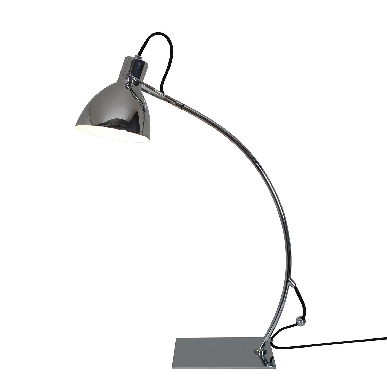 EEK A++, Lampe de table - Métal Argenté 1 ampoule, Näve