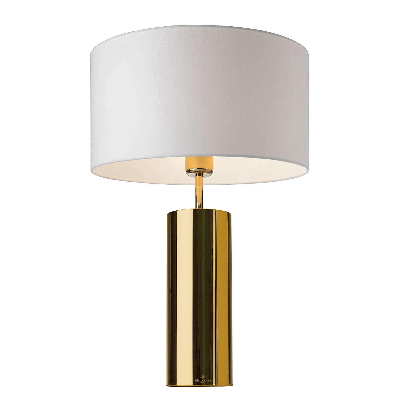 EEK A++, Tischleuchte Prag - Edelstahl - Gold, Villeroy und Boch bei Home24 - Lampen