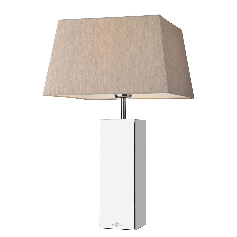EEK A++, Lampe de table Prag - Acier inoxydable Argenté, Villeroy und Boch