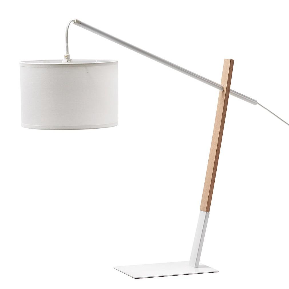 EEK A++, Lampe de table Riaz - Métal / Bois - 1 ampoule, Norrwood