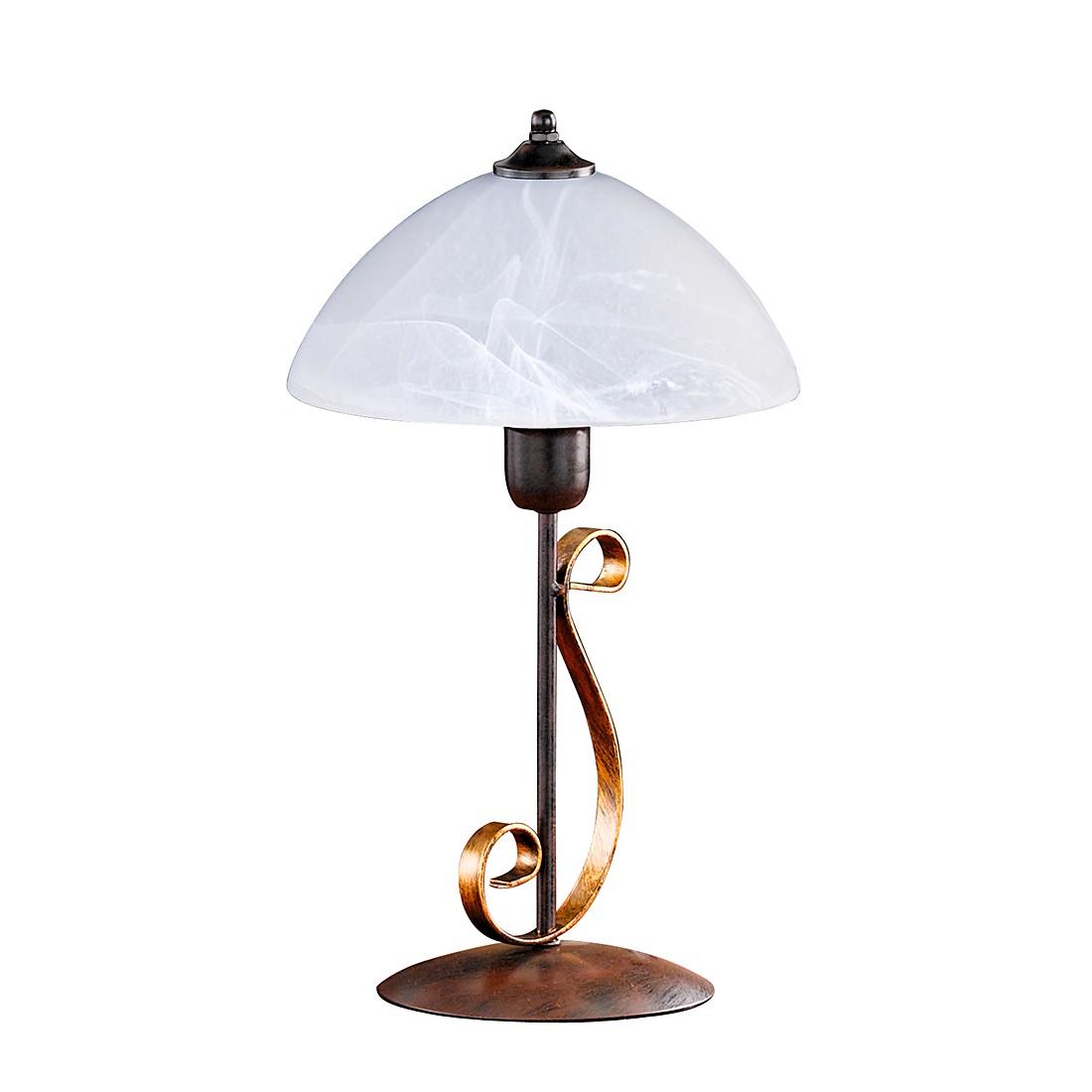 EEK A++, Lampe de bureau Lisa - Rouille antique, Honsel