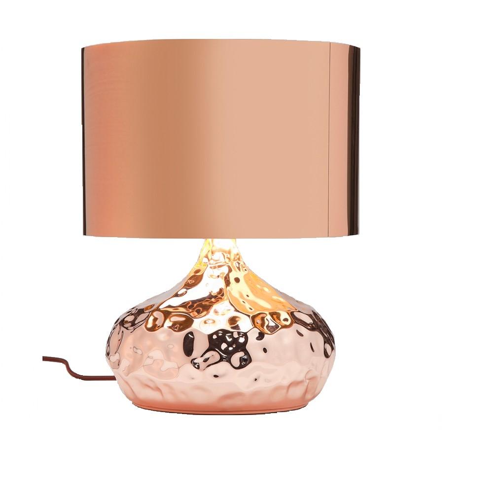 EEK A++, Lampe de table Rumble - Métal Marron 1 ampoule, Kare Design