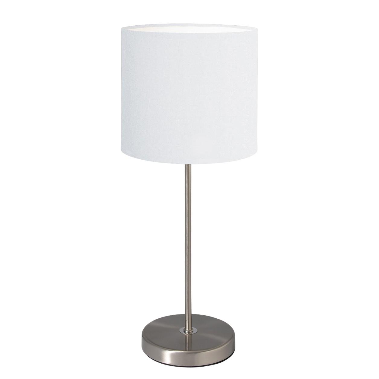 energie  A++, Tafellamp - stof/zilverkleurig metaal 1 lichtbron, Näve