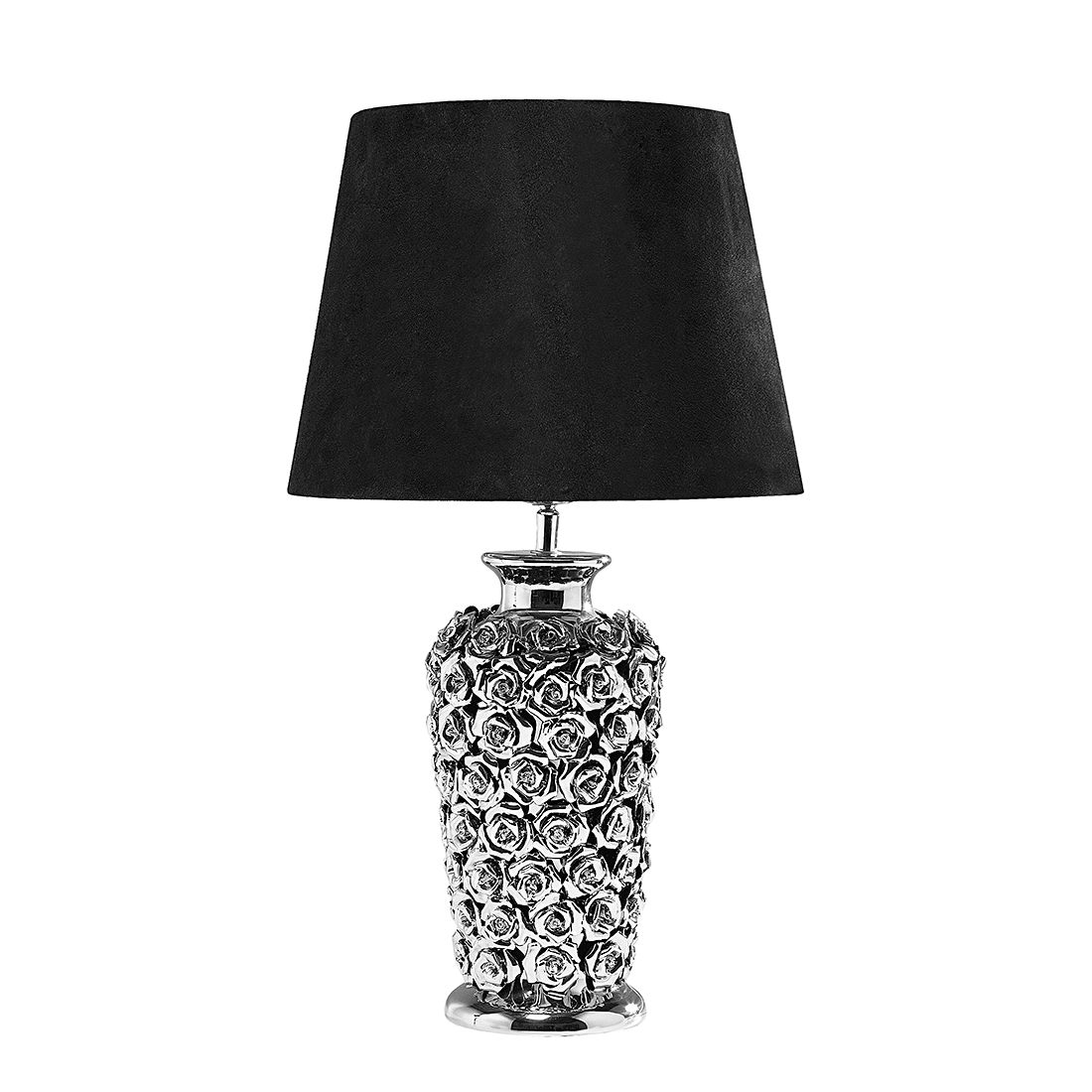 EEK A++, Lampe de table TL Rose Multi - Pierre / Tissu 1 ampoule, Kare Design