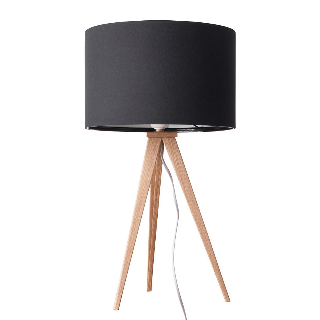 EEK A++, Lampe de table TRIPOD WOOD - Métal / Fer 1 ampoule, Zuiver