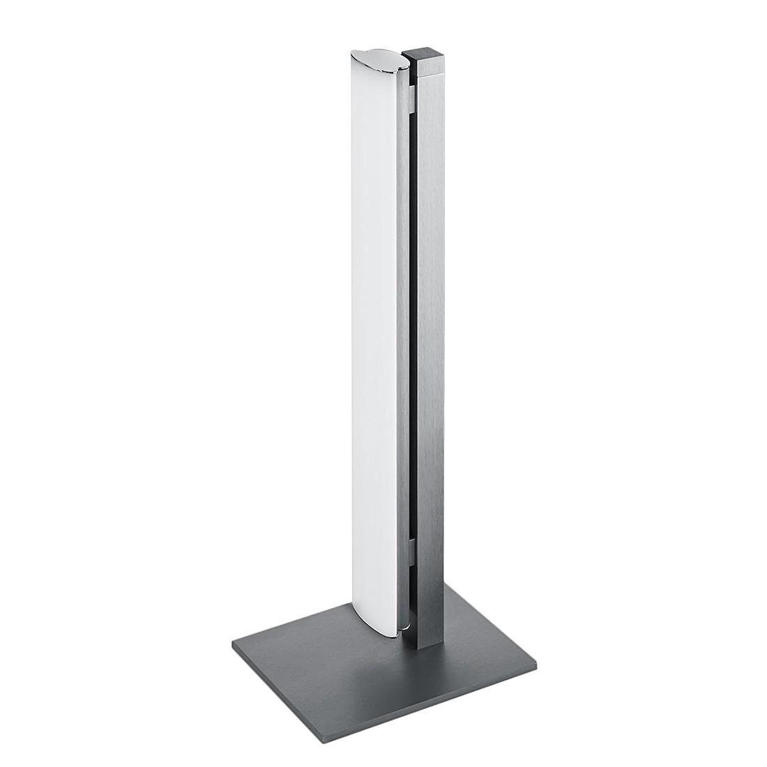 EEK A+, Lampe de table VENTA - Métal / Matériau synthétique Argenté, Helestra
