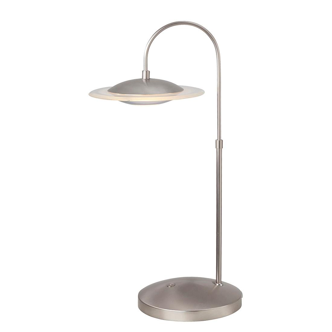 EEK A+, Lampe de table LED Zelena - 1 ampoule Nickel mat, Steinhauer