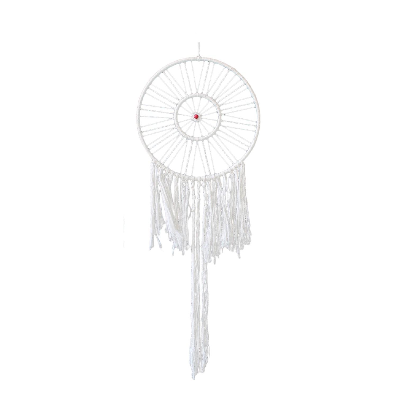 Home 24 - Attrape-rêves louvette - coton - blanc - 100, ars manufacti