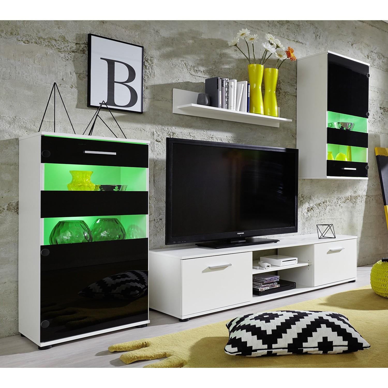 14 sparen wohnwand swink von trendteam nur 299 99 cherry m bel home24. Black Bedroom Furniture Sets. Home Design Ideas