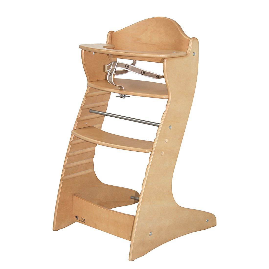 Home 24 - Chaise haute en escalier chair up - bois naturel, roba