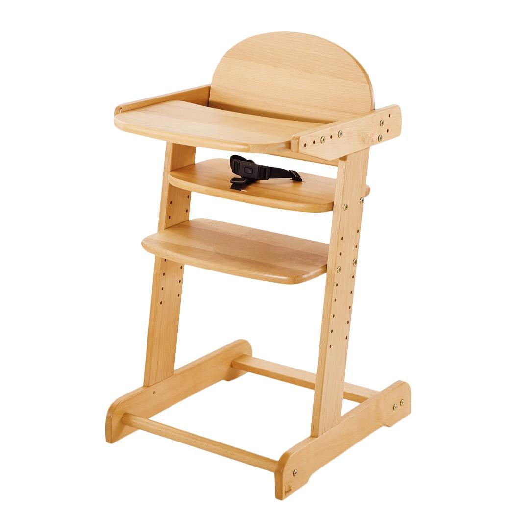 Kinderstoel Philip - houtkleurig, Pinolino