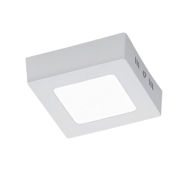 EEK A+, LED-Deckenleuchte Zeus - Acrylglas / Aluminium - 1-flammi bei Home24 - Lampen