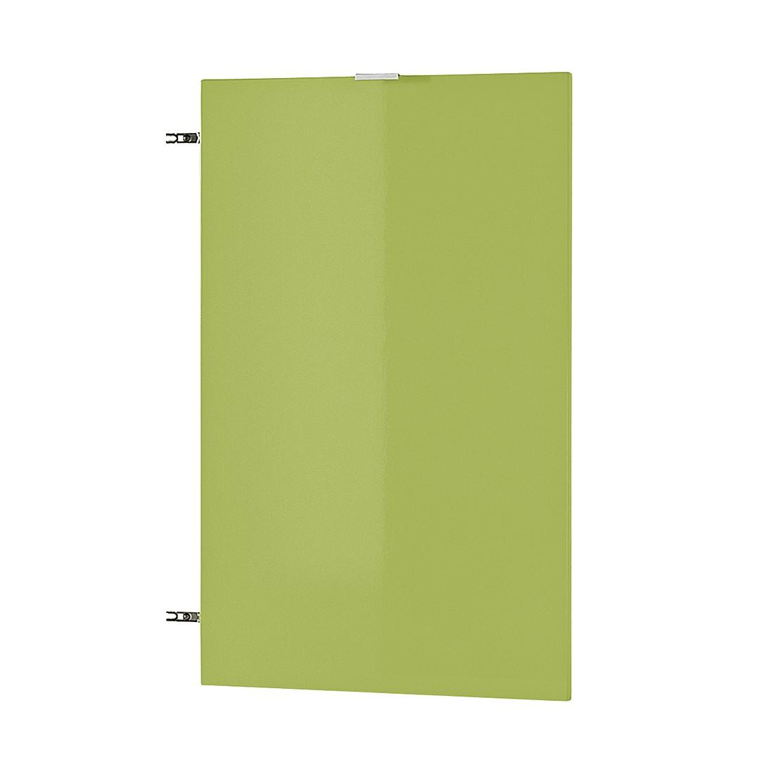 Deur Colorado (met inlegplank) - Hoogglans groen, Germania