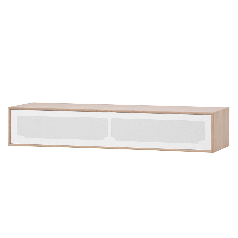 TV-Board Danilo - Eiche Dekor / Weiß - 114,5 cm