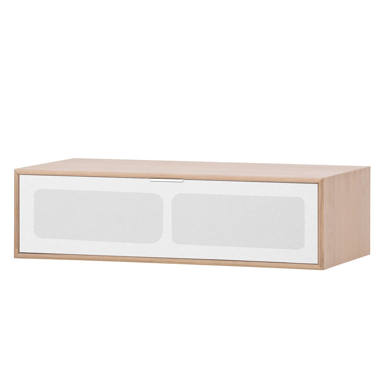 TV-Board Danilo - Eiche Dekor / Weiß - 77 cm