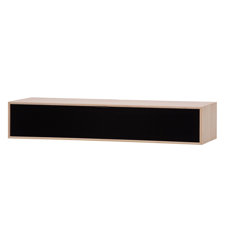 TV-Board Danilo - Eiche Dekor / Schwarz - 114,5 cm
