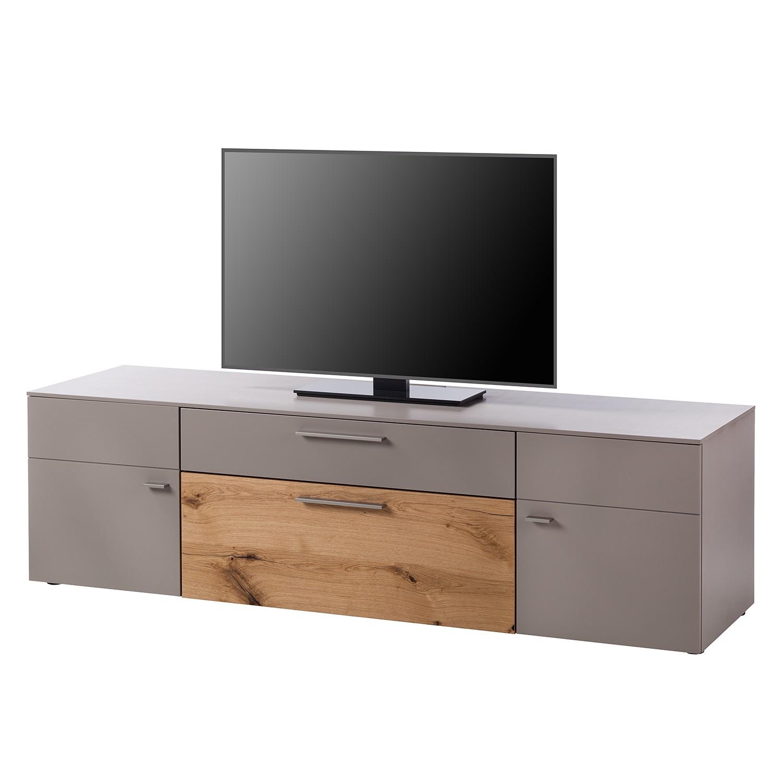 Meuble TV Anzio I - Mat fango / Chêne de poutre, Netfurn by GWINNER