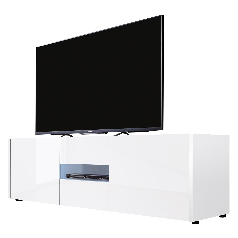 lowboard wei hochglanz preisvergleich die besten. Black Bedroom Furniture Sets. Home Design Ideas