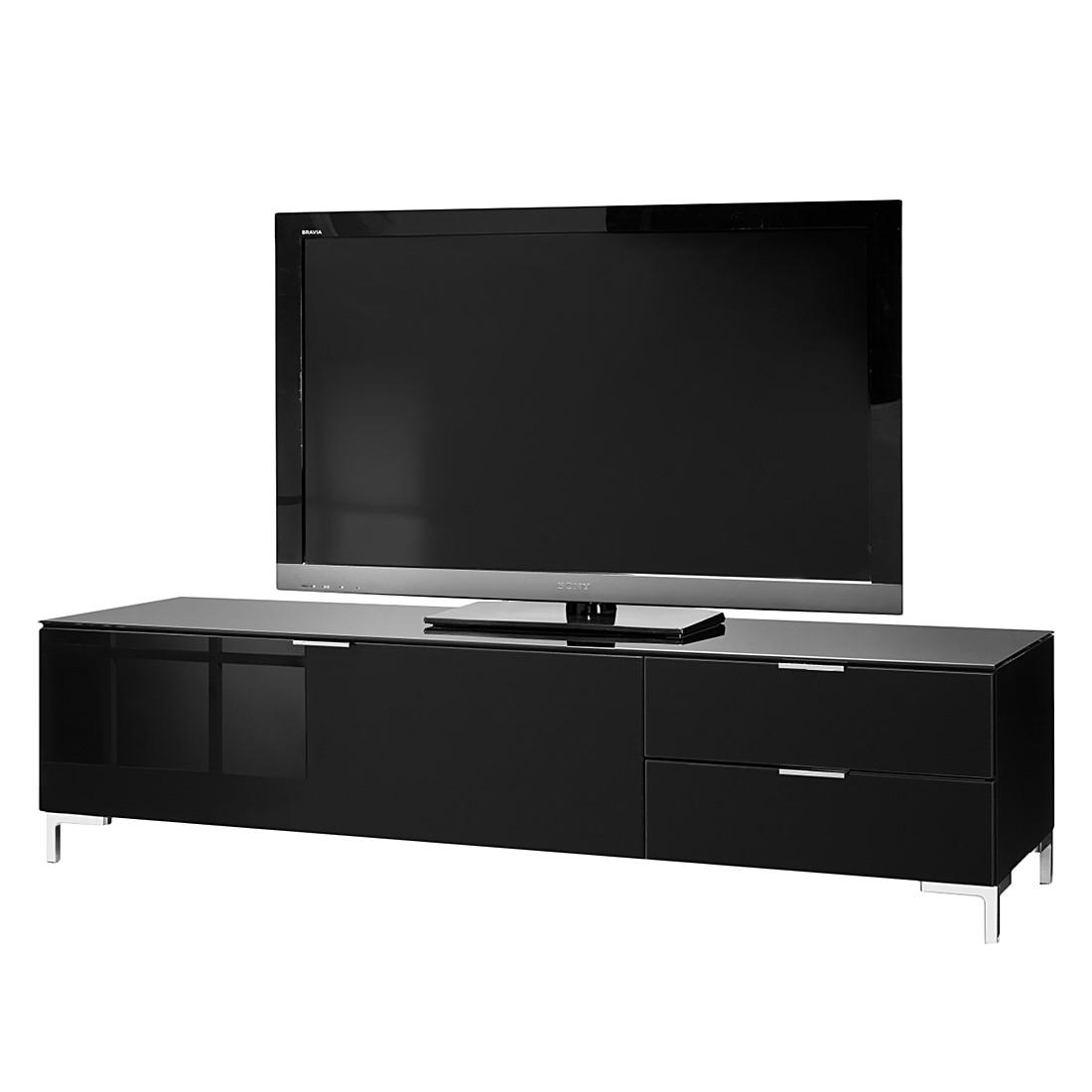 Tv lowboard schwarz glas  Jetzt bei Home24: TV-Lowboard von CS Schmal | Home24
