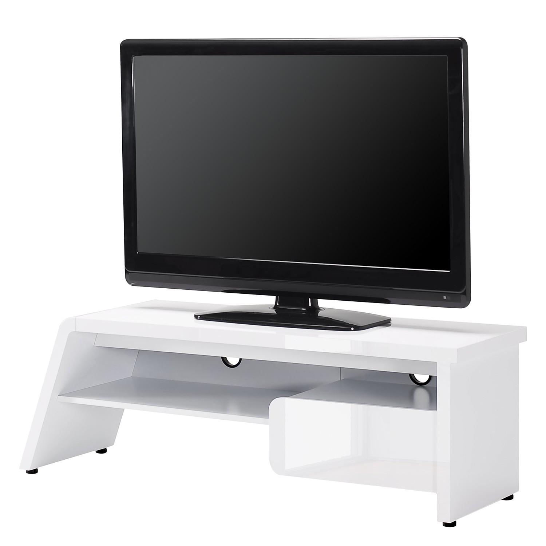 TV-Lowboard CU-Culture M 141 - Bianco lucido, Jahnke