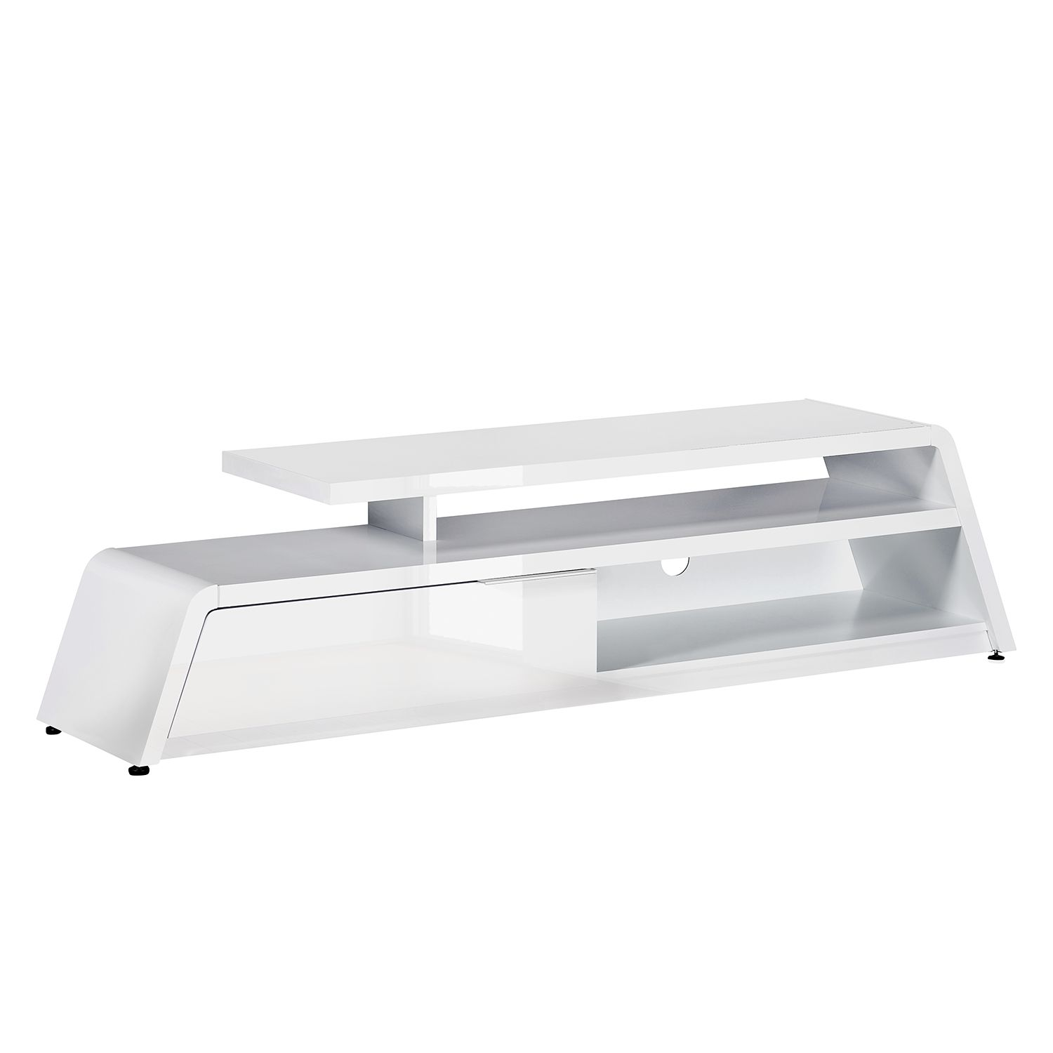 Meuble TV CU-Culture M 180 - Blanc brillant, Jahnke