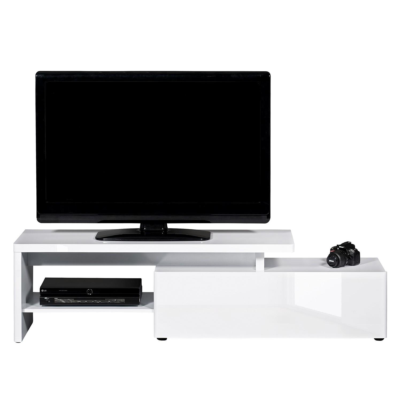 Meuble TV CU-Libre 160 - Blanc brillant, Jahnke