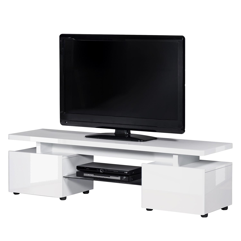Meuble TV CU-Libre M 255 - Blanc brillant, Jahnke