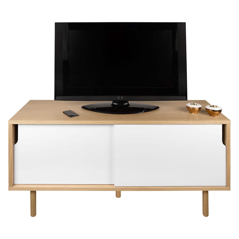 TV-Lowboard Dann - Eiche / Weiß, Norrwood