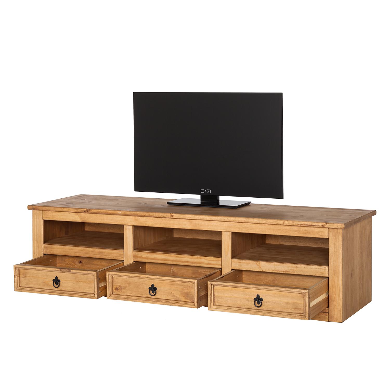 tv lowboard finca rustica ii kiefer massiv kiefer tv board. Black Bedroom Furniture Sets. Home Design Ideas