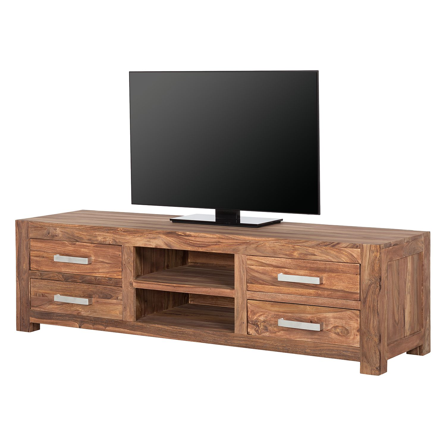 tv lowboard indra ii sheesham teilmassiv ars natura kaufen. Black Bedroom Furniture Sets. Home Design Ideas