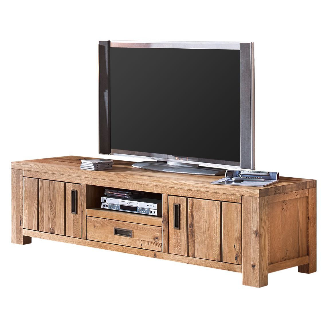 Meuble TV Lessebo - Chêne sauvage massif, Ars Natura