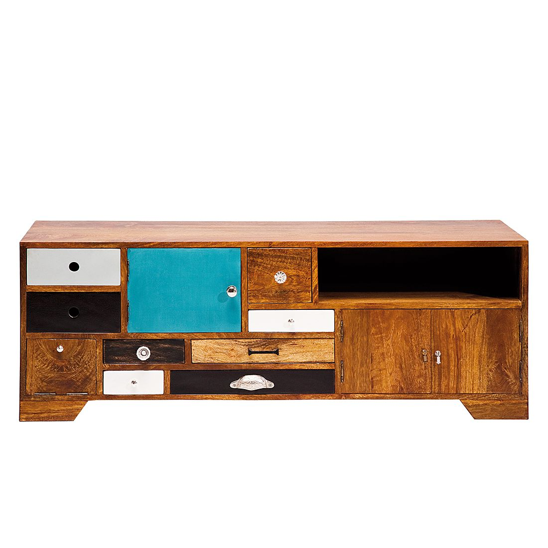lowboards holz preisvergleich die besten angebote online. Black Bedroom Furniture Sets. Home Design Ideas