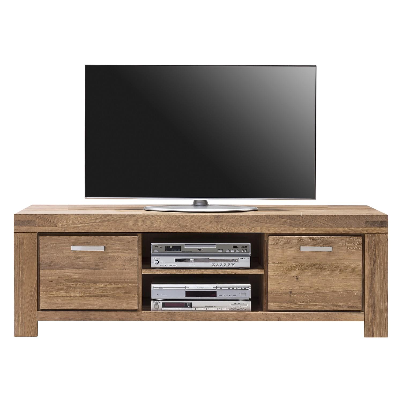 Home 24 - Meuble tv massino iv - chêne sauvage massif - 175 cm, lars larson