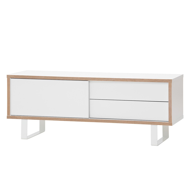 TV-Lowboard Montevideo II - Weiß