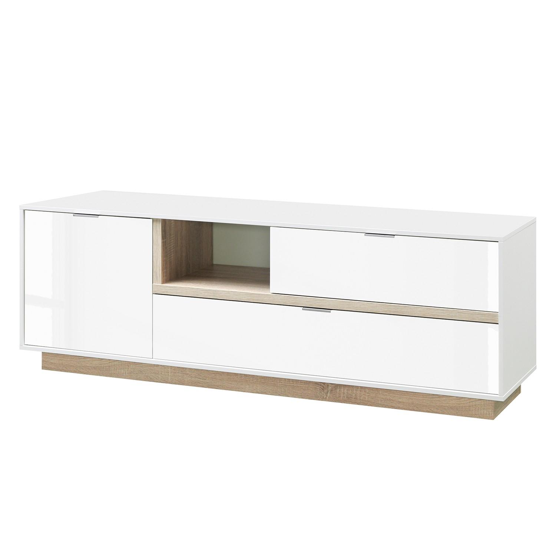design lowboard weiss hochglanz preisvergleich die besten angebote online kaufen. Black Bedroom Furniture Sets. Home Design Ideas