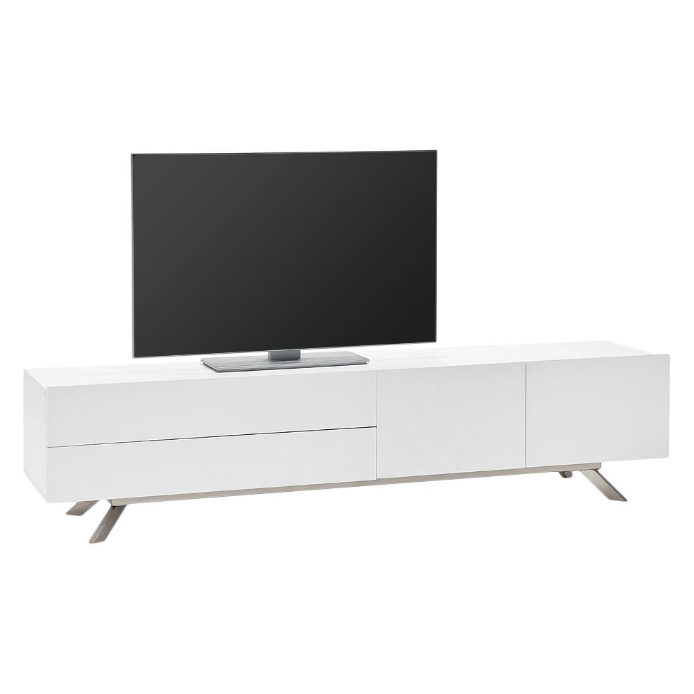 tv lowboard 200 cm i n weiss preisvergleiche. Black Bedroom Furniture Sets. Home Design Ideas