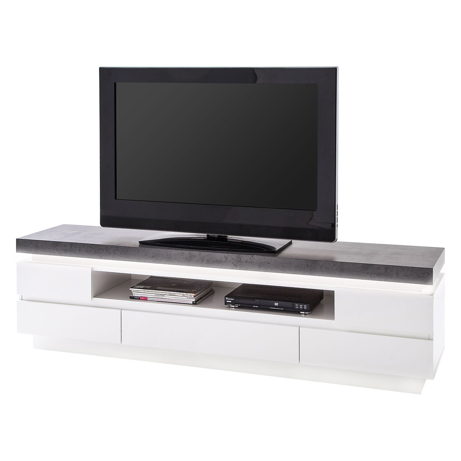 tv meubel met verlichting kopen online internetwinkel. Black Bedroom Furniture Sets. Home Design Ideas