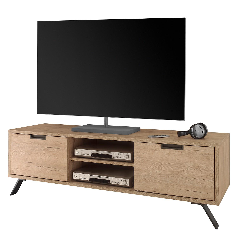 Meuble TV Palma - Imitation chêne, Lc Mobili